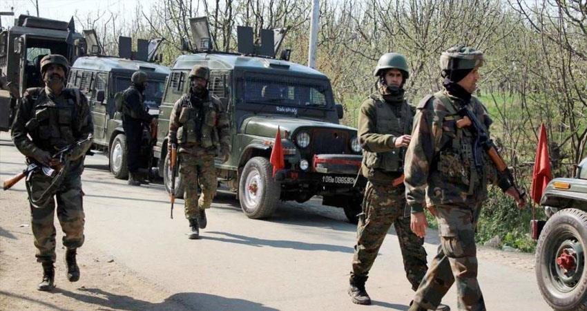 Encounter between security forces and terrorists in Tral 2 to 3 terrorists hiding in area prshnt