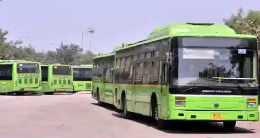 delhi live tracking of dtc buses will be available within 10 days