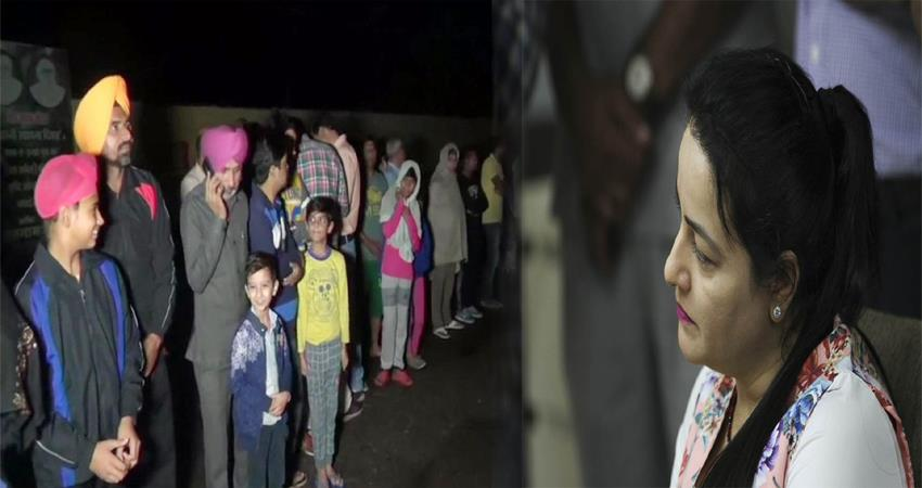 honeypreet reached dera sacha sauda sirsa released from ambala central jail
