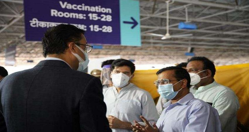 within 3 months delhi govt may vaccinated to all delhi people kmbsnt