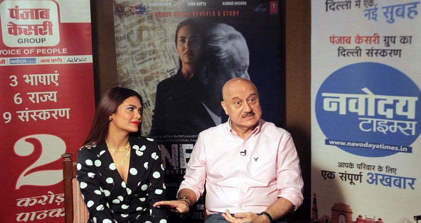 #exclusive interview with anupam kher