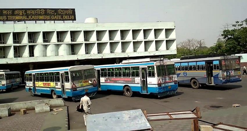 Delhi No Entry interstate buses Transport Department proposal to DDMA KMBSNT