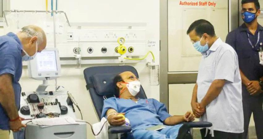 another plasma bank opened in delhi cm kejriwal will inaugurate today prshnt