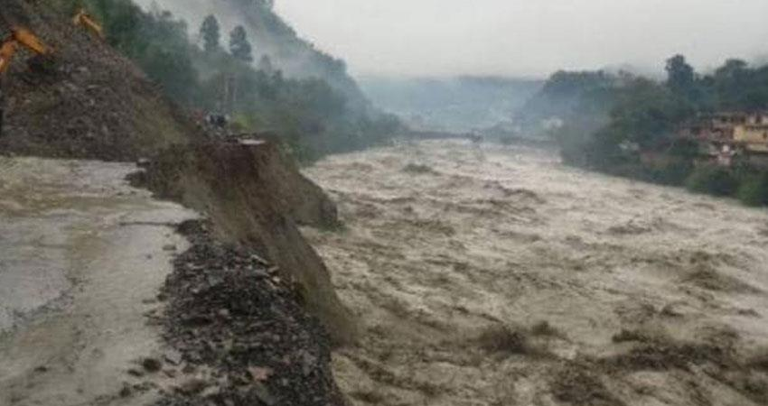 heavy rainfall in uttrakhand meteorological department issued high alert