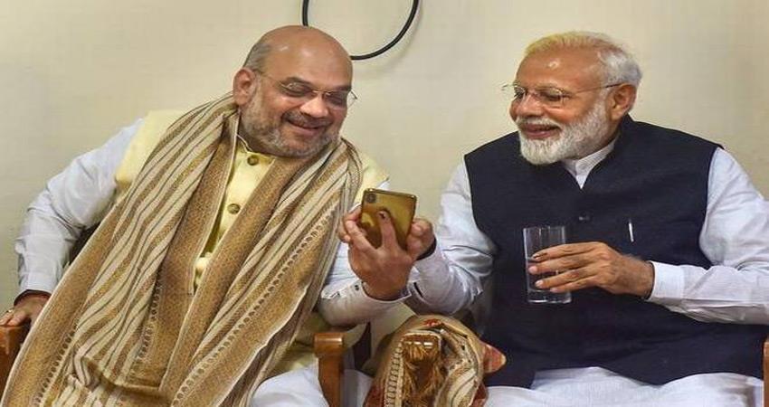 narendra modi and amit shah make the impossible ''''possible''''