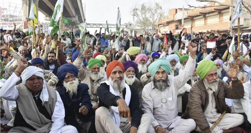 farmers protest against farm laws meeting with modi govt msp kmbsnt