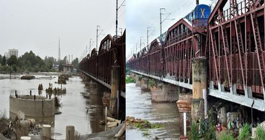 delhi on high flood alert river yamuna crosses the warning mark