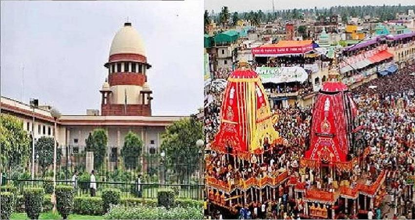 center told sc, rath yatra can be done without devotees prshnt