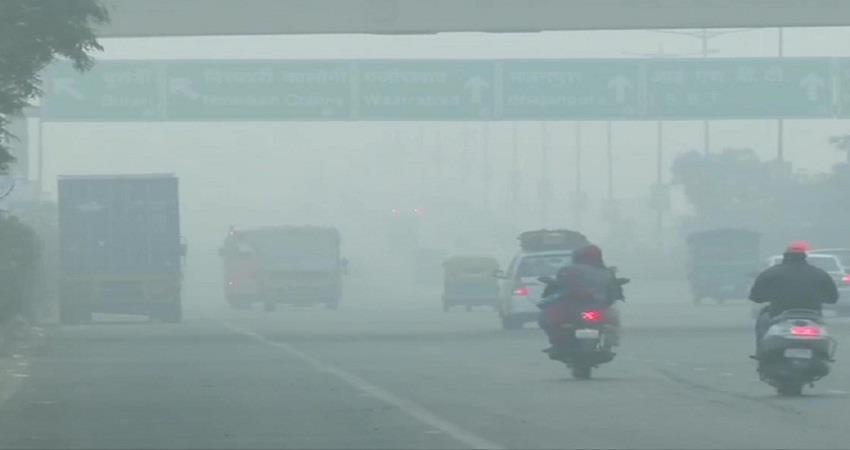 Delhi Polution air quality index stubble burning sohsnt
