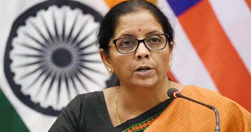 finance minister nirmala sitharaman can give a blueprint for 20 lakh crore package today prshnt