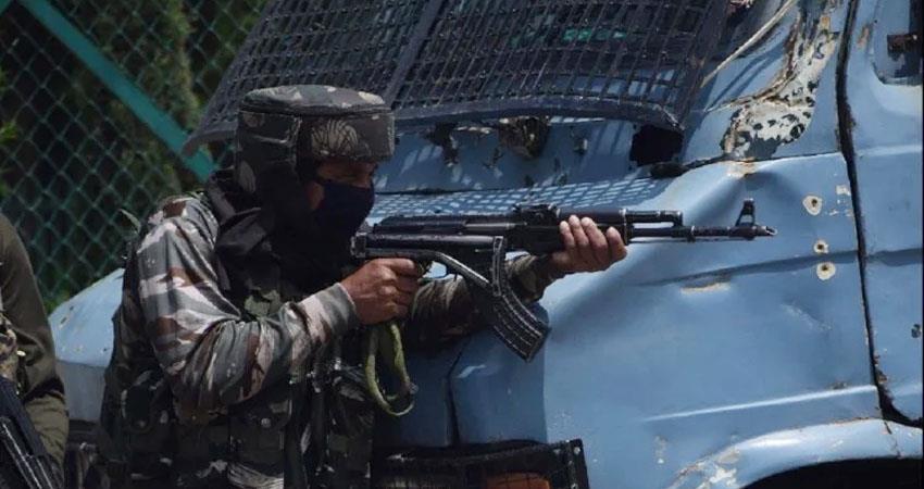 Jammu and Kashmir encounter with terrorists in Handwara 2 foreign terrorists killed prshnt