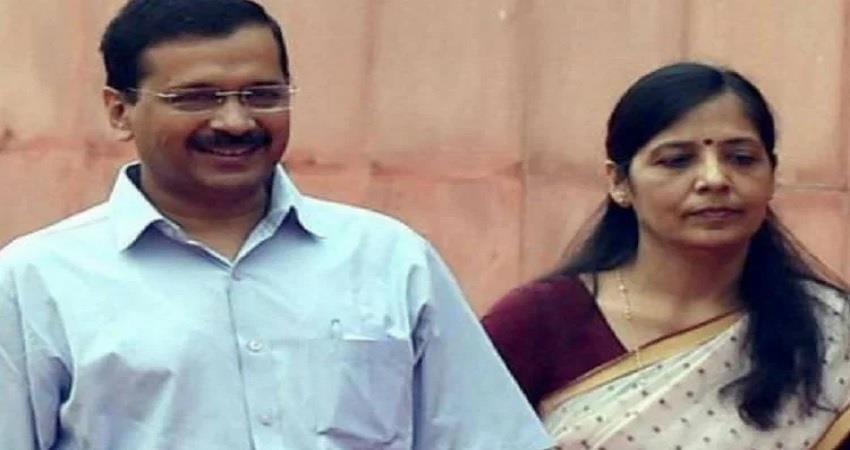 cm kejriwal wife sunita kejriwal admitted to max hospital saket kmbsnt