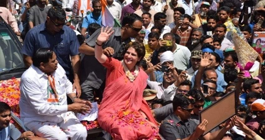 priyanka-gandhi-will-do-a-road-show-in-varanasi-pm-parliamentary-constituency