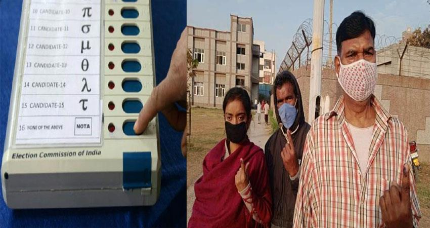 MCD Bypolls 2021  Voting continues on 5 municipal seats ANJSNT