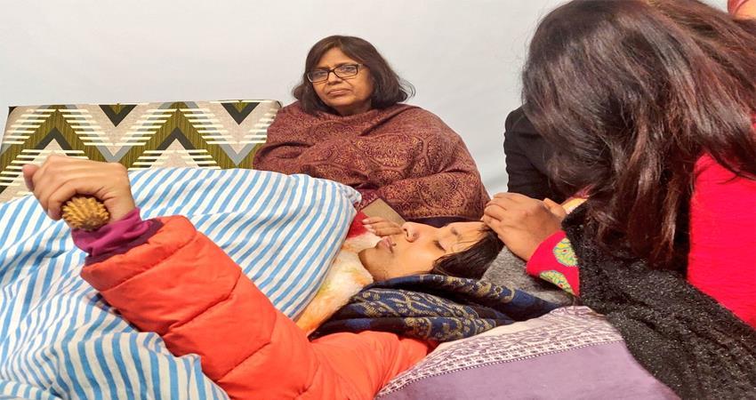Swati Maliwal Hunger Strike 8th day reduced sugar level