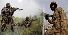 पाक ने फिर किया सीजफायर का उल्लंघन,सेना ने 2 आतंकियों को किया ढेर