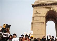 CAA Protest: नए साल पर छात्रों ने लिया संकल्प- कागज नहीं दिखाएंगे
