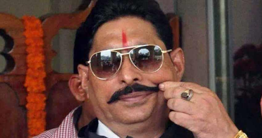 MLA Anant Singh said that he will go to his house before surrender