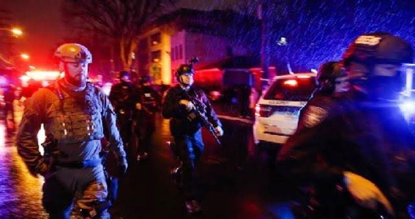 America New Jersey Jersey City Shootout Michael kelly american police
