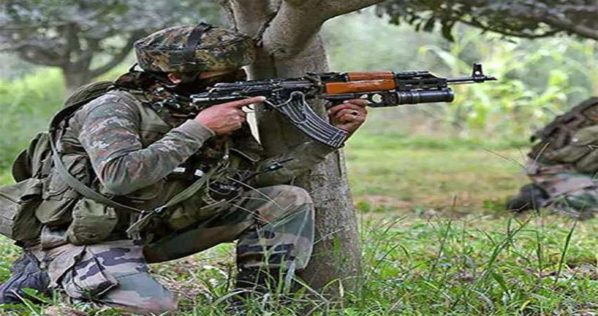 Jammu and Kashmir Army shot dead a terrorist during an encounter in Avantipora