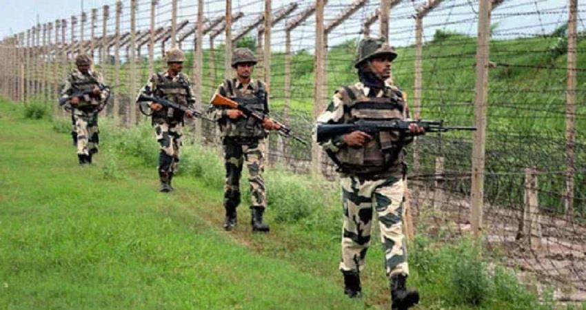 bsf foundation day home minister shah and defense minister bow to soldiers sohsnt
