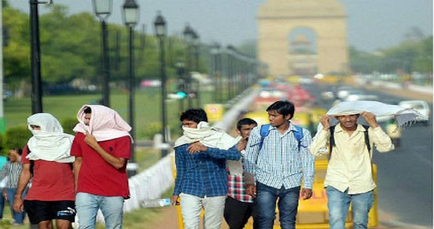 delhi weather updates temperature increasing kmbsnt