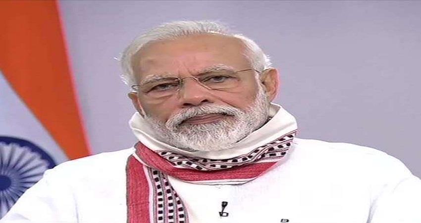 pm modi congratulated the nation on the navratri festival sohsnt