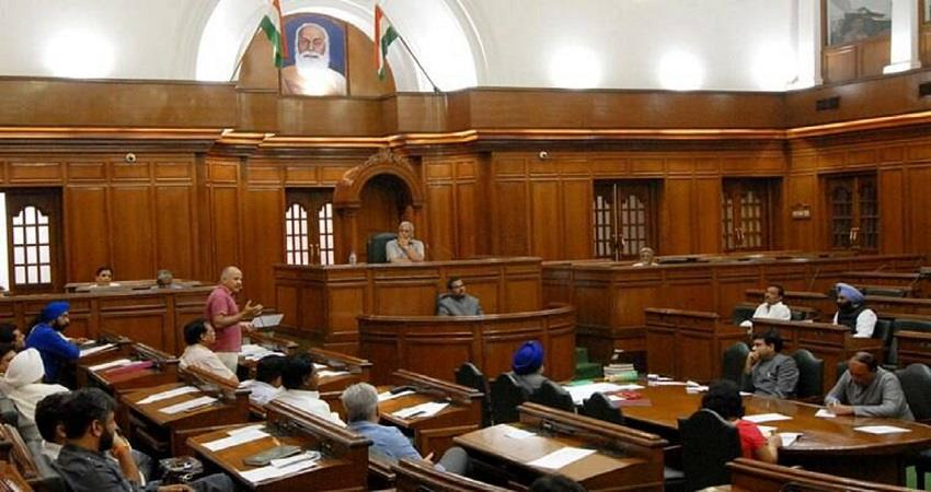 delhi assembly monsoon session may call on mid september kmbsnt