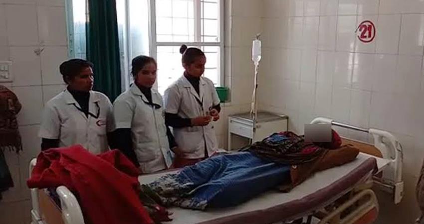 unnao-victim-s-sister-hospitalized-complained-of-chest-pain-unnao-rape-case-bighapur-hospital