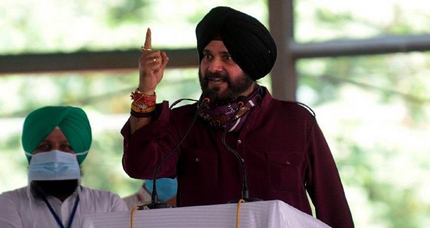 navjot singh sidhu may become punjab congress president today kmbsnt