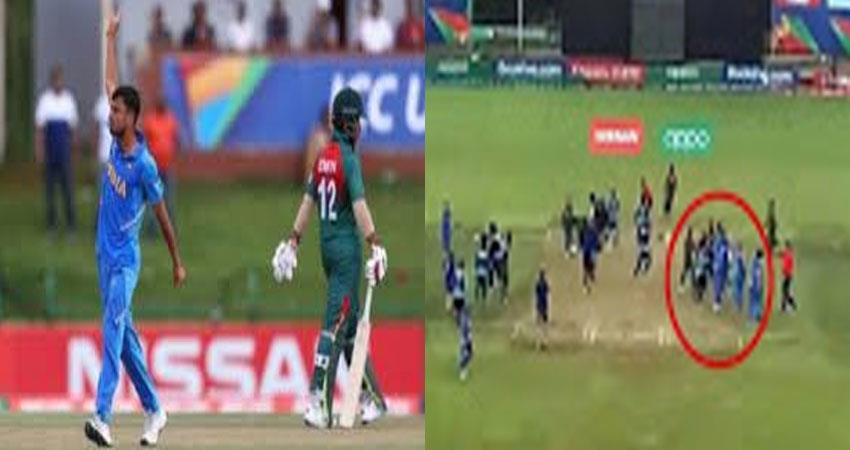 bangladeshi team misbehaved with indian players