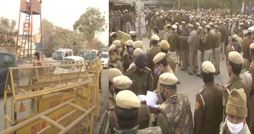 farmers protesting against agricultural law reach delhi todaylive high alert pragnt