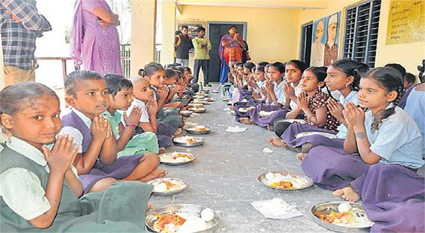 central govt give 27 crore rs to delhi govt for mid day meal kmbsnt