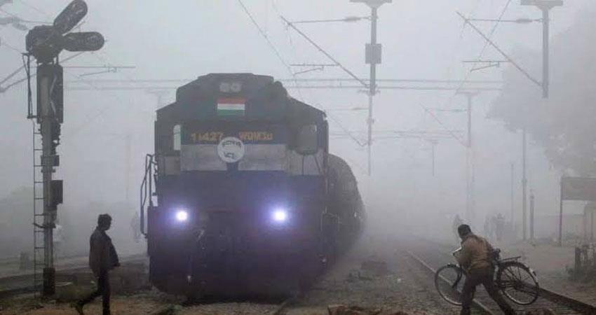delhi pollution aqi fog cold temperature
