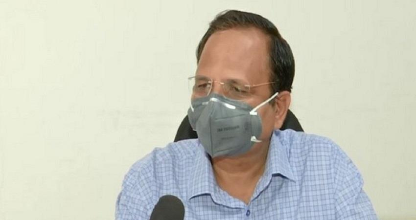 delhi health minister satyendar jain attack on modi govt over plasma therapy kmbsnt