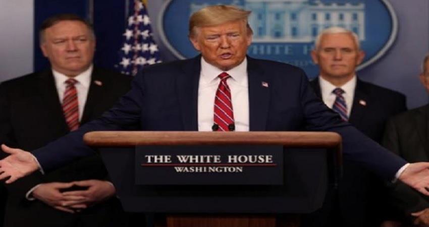 american president donald trump on g20 leaders coronavirus fight