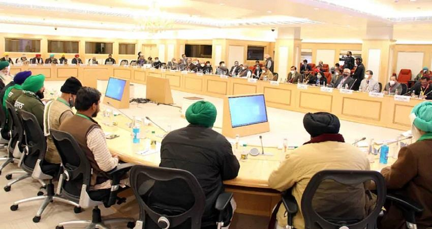 consensus between govt and farmers over two demands kmbsnt