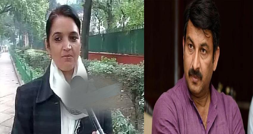 delhi bjp former mayor sarita chaodhary azad singh slap