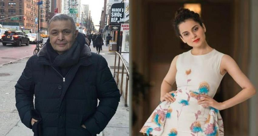 rishi kapoor comes in support of kangana ranaut after judgemental hai kya controversy