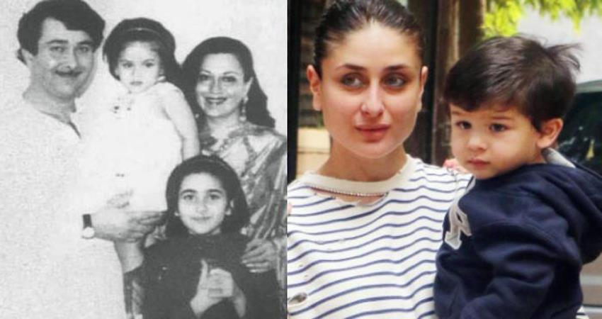 randhir kapoor reveals kareena new born baby look like taimur sosnnt