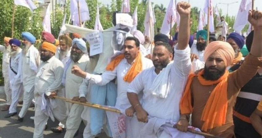 Pockets will be loose due to farmer Protest supply of vegetables in mandi DJSGNT