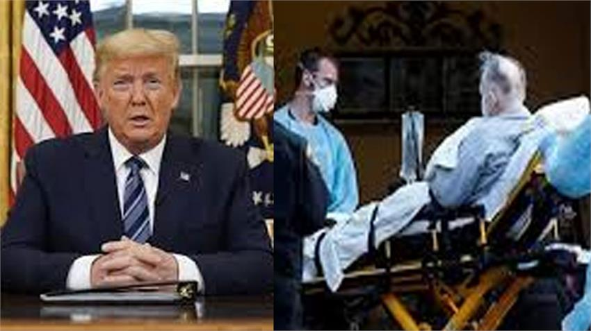 america usa in worse condition corona virus infection 2493 died so far trump alerts rdksnt