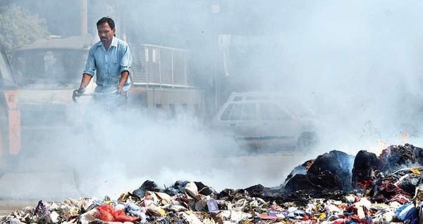 garbage burning 1 crore rs fine delhi environment minister gopal rai kmbsnt