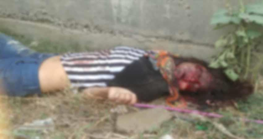 Ghaziabad The dead body of the unidentified maid found in a suspected condition