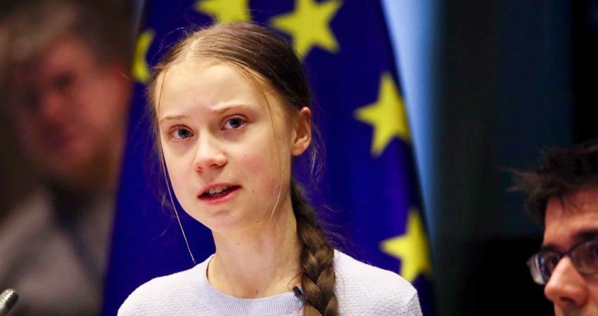 environmental activist greta thunberg came in support of farmers demonstration prshnt