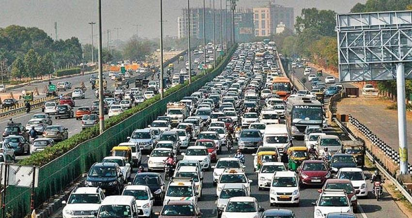 more than 600 vehicles per 1 thousand population in delhi kmbsnt