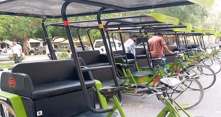 delhi-iit-invent-solarerikshaw-for-their-campus