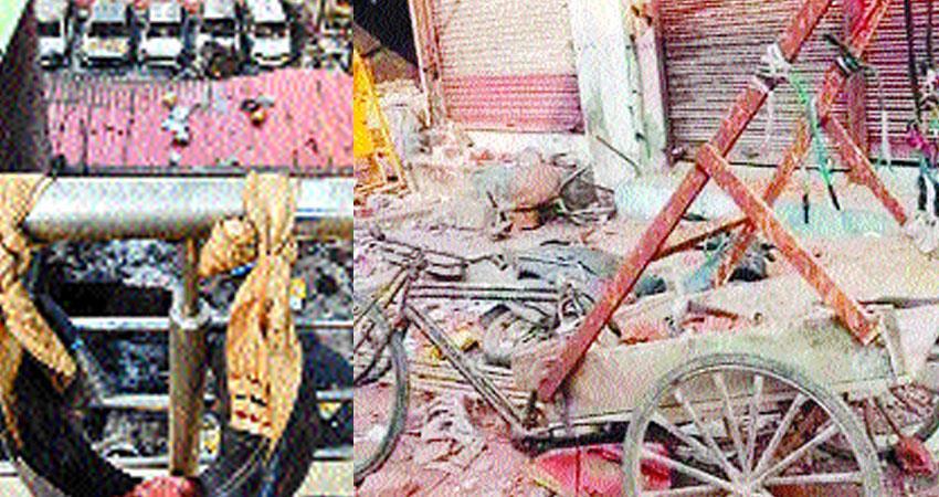 Delhi riots How weapons including war slingshot catapult used in North East Delhi riots