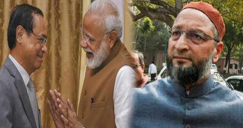 asaduddin owaisi on nomination of former cji ranjan gogoi to rajya sabha