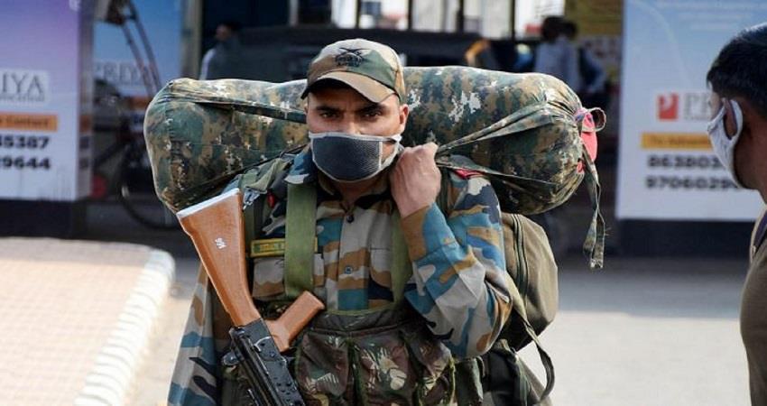 coronavirus epidemic indian army subedar covid19 positive uttarakhand kmbsnt